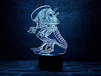 """Сменная пластина для 3D светильников """"Чужой"""" 3DTOYSLAMP, фото 1"""