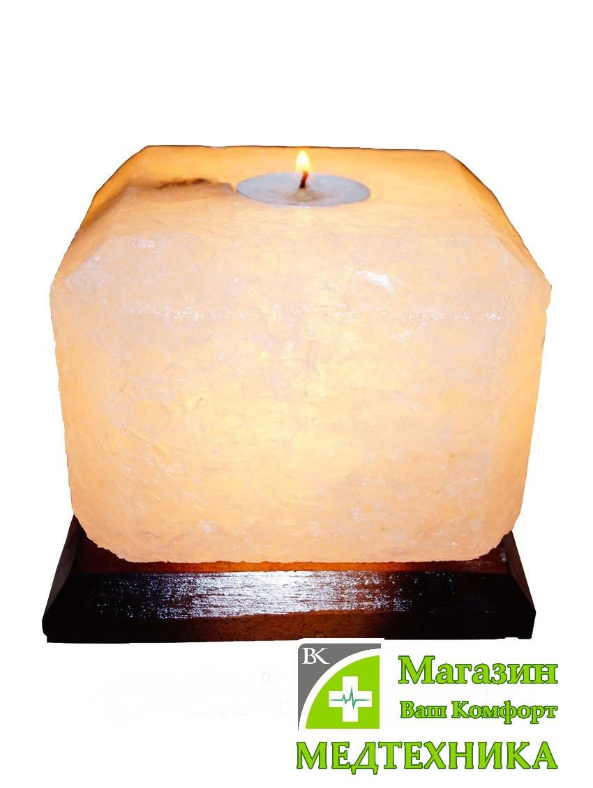 Соляная лампа «Свеча-арома» 2 кг