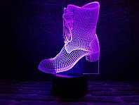 """Сменная пластина для 3D светильников """"Сапожок"""" 3DTOYSLAMP, фото 1"""