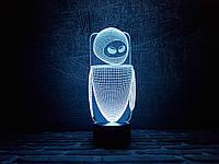 """Сменная пластина для 3D светильников """"Ева"""" 3DTOYSLAMP, фото 1"""