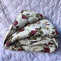 Одеяло полуторное овечья шерсть бязь Gold Lux Rose