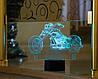 "3D Светильник ""Мотоцикл 3"" 3DTOYSLAMP"
