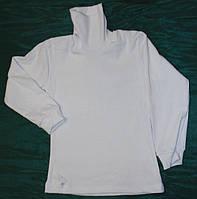 Водолазка белая детская 2-10 лет S113