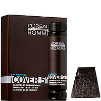 Тонирующий гель без аммиака для мужчин L'oreal professionnel HOMME, 3*50 мл. №3 Темный шатен