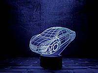 """Сменная пластина для 3D светильников """"Автомобиль"""" 3DTOYSLAMP, фото 1"""