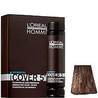 Тонирующий гель без аммиака для мужчин L'oreal professionnel HOMME, 3*50 мл. №6 Темный блондин