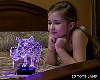 """Детский ночник """"Пумба"""" 3DTOYSLAMP, фото 1"""