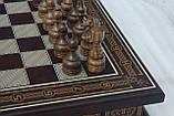 Шахматы бокс темный 3 в 1, фото 3