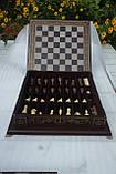 Шахматы бокс темный 3 в 1, фото 7