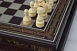Шахматы бокс темный 3 в 1, фото 2