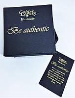 Дизайнерские коробочки с тиснением Вашего логотипа под заказ от 100 шт., фото 1