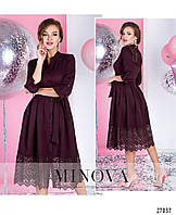 Нарядное платье миди с расклешенной юбкой, цена 870 грн., купить в ... 0bf1f7c81fc