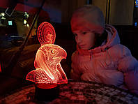 "3D лампа ""Ра"" 3DTOYSLAMP, фото 1"