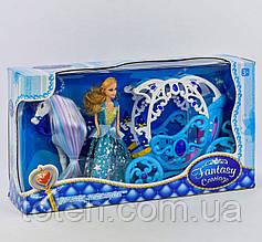 Карета с куклой и лошадкой для девочек 272 А