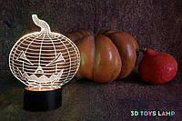 "3D светильник ""Хэллоуин"" 3DTOYSLAMP, фото 1"