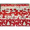 Новогодние ткани пэчворк «New Year red», фото 2