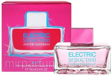 Парфюмерия женская Antonio Banderas Electric seductuion in blue for woman, фото 2