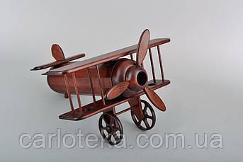 """Елітний подарунок дерев'яний міні бар """"Літак"""""""