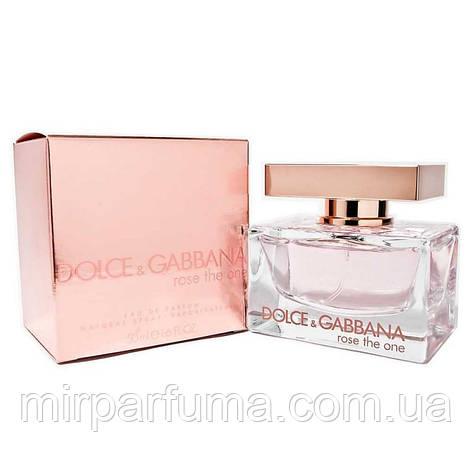 Парфюмированная вода DOLCE&GABBANA ROSE THE ONE, фото 2