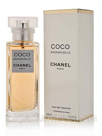 Парфюмерия женская Chanel Coco Madmoiselle Eau De Toilette 100 ml тестер, фото 2