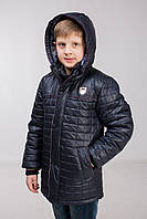 Куртка детская демисезонная на мальчика синяя