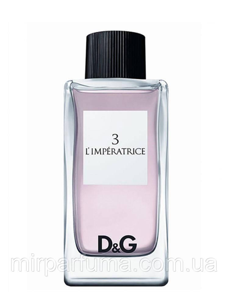 Женская Туалетная Вода Dolce&Gabbana 3 L'Imperatrice тестер