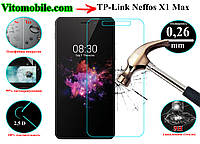 Защитное стекло TP-Link Neffos X1 Max / 2,5D / олеофобное покрытие