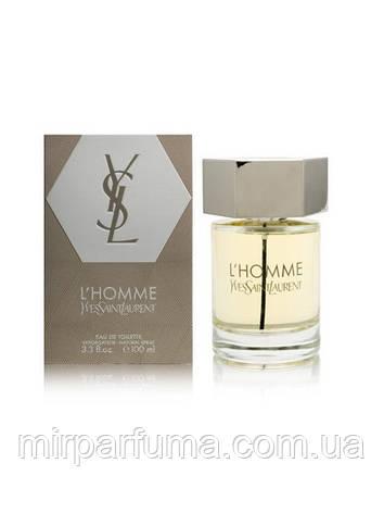 Жіноча парфумерія Yves Saint Laurent l'homme Parfum Intense 100 ml, фото 2