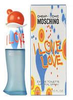 "Туалетная вода (женские духи) Moschino ""Cheap and Chic I Love Love"", 100 ml"