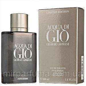 Туалетна вода для чоловіків Armani Acqua di Gio Sport 100 ml