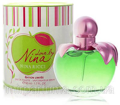 Жіноча парфумована вода NINA RICCI LOVE BY 50 ML, фото 2