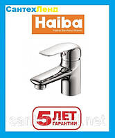 Смеситель для умывальника Haiba Dario 001