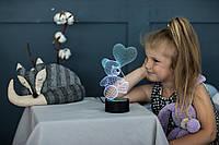 """Детский ночник - светильник """"Мишка с шариком"""" 3DTOYSLAMP"""