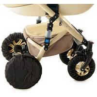 Чехлы на поворотные колеса для детской коляски защита на коляску от пыли и грязи Польша