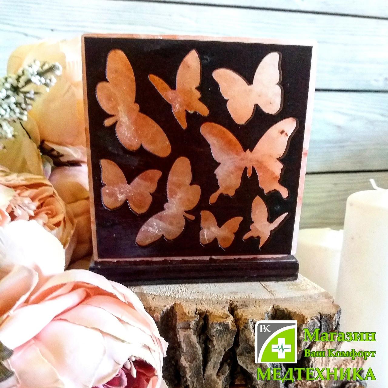 Соляная лампа «Бабочки»