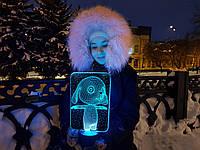 """Детский ночник - светильник """"Зайка"""" 3DTOYSLAMP, фото 1"""