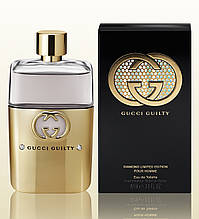 Мужской парфюм GUCCI GUILTY DIAMOND LIMITED EDITION POUR HOMME 90 ML EDT