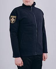 Кофта флісова тактична Dark Navy Blue ДСНС