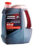 Масло Evinrude/Johnson XD-30 - для 2-х тактных подвесных двигателей 3,79 л