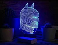 """Детский ночник - светильник """"Бэтмен 2"""" 3DTOYSLAMP, фото 1"""