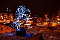 """Детский ночник - светильник """"Железный человек 4"""" 3DTOYSLAMP, фото 1"""