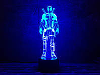 """Детский ночник - светильник """"Дэдпул 2"""" 3DTOYSLAMP, фото 1"""