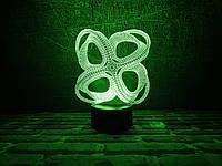 """Детский ночник - светильник """"Инфинито"""" 3DTOYSLAMP, фото 1"""