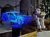 """Детский ночник - светильник """"Автомобиль 6"""" 3DTOYSLAMP"""