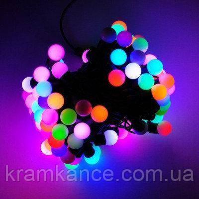 """Гірлянда новорічна світлодіодна 40 LED """"Шар"""" (20мм) MIX"""
