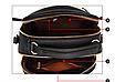 Сумка женская с ручкой через плечо Stylish bag с помпоном Черная, фото 5