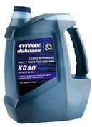 Масло XD-50 – для 2-х тактных подвесных двигателей при высоких нагрузках 4 л