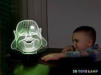 """Детский ночник - светильник """"Хотей"""" 3DTOYSLAMP, фото 1"""