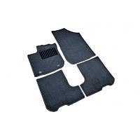 Коврики в салон для Renault Logan / Sandero (2013-) /Чёрные, ворс кт. 4шт 8201688440