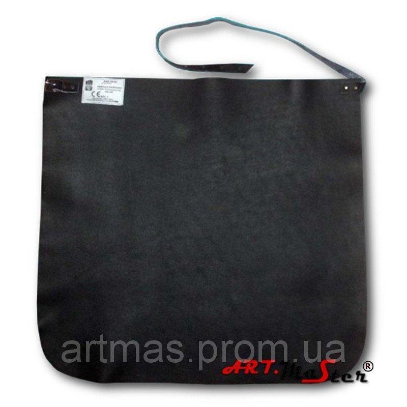 Кожаный защитный фартук ARTMAS черного FLK C